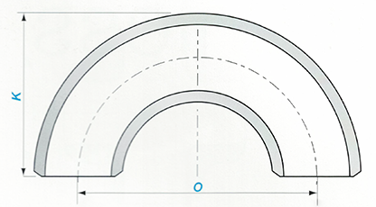 Butt-welding 180° LR/SR Return Sketch Map-Walmi