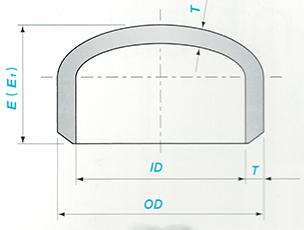 Butt-welding Cap Sketch Map-Walmi