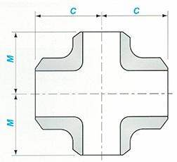 Butt-welding Reducing Cross Sketch Map-Walmi