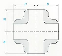Butt-welding Straight Cross Sketch Map-Walmi