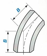 Butt-welding 45° 3D Elbow Sketch Map-Walmi