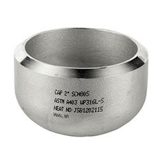 Butt-welding Stainless Steel Cap-Walmi